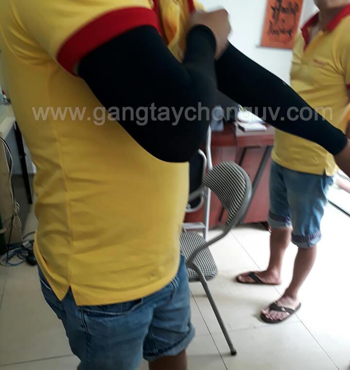 Găng tay chống nắng thể thao nam Aqua X